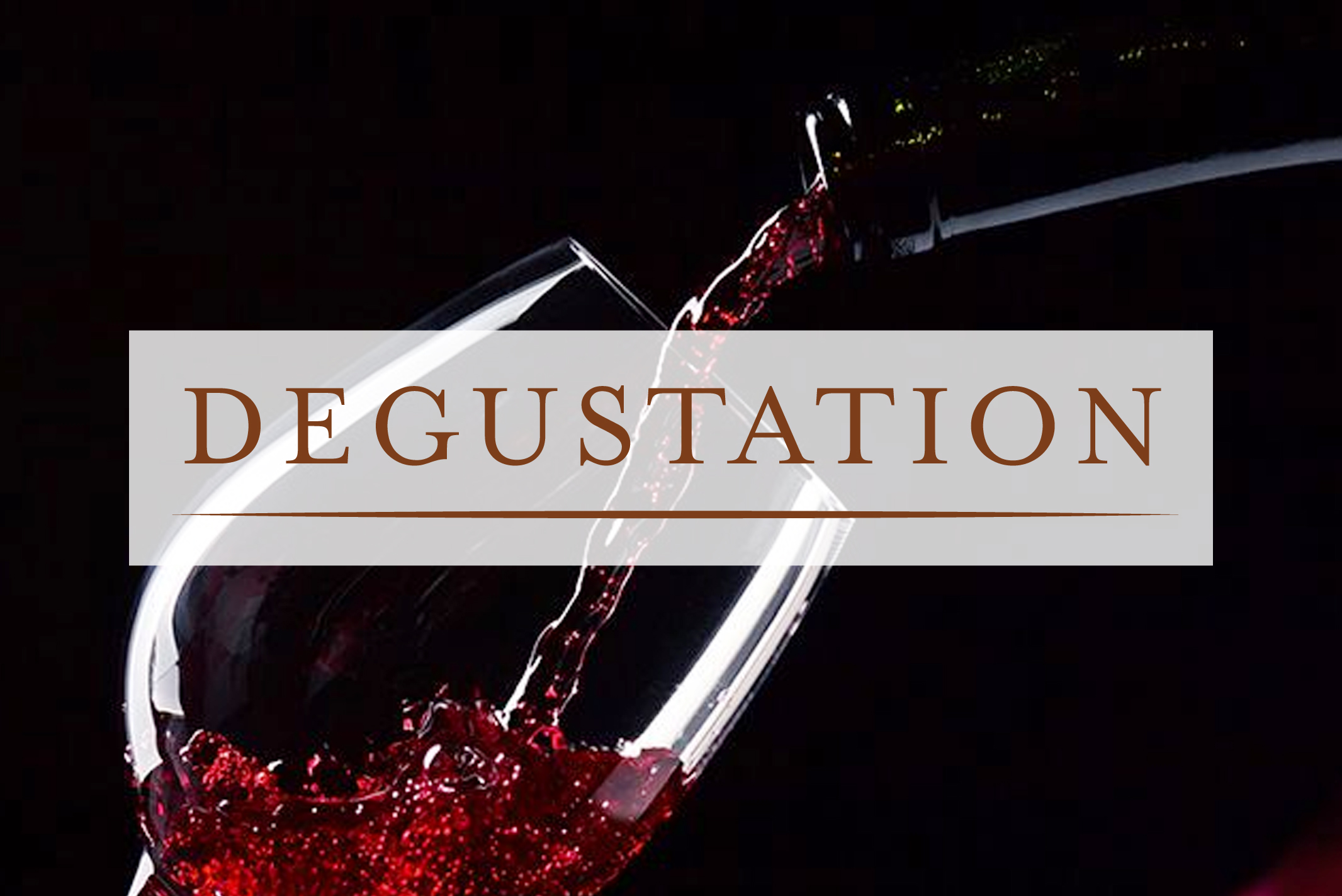 wine degustation